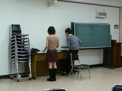 打楽器練習中...